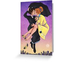 A Spoonful of Sugar Greeting Card