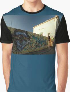 Grafitti - Chrome Face, Bordeaux, France, Europe 2012 Graphic T-Shirt