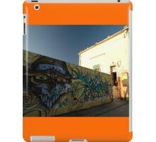 Grafitti - Chrome Face, Bordeaux, France, Europe 2012 iPad Case/Skin