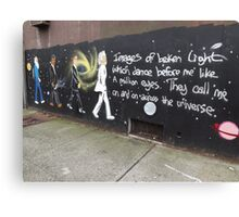 Scientists/Astronomers Mural, Jersey City Heights, Jersey City, New Jersey Canvas Print