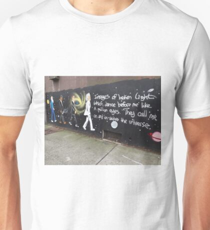 Scientists/Astronomers Mural, Jersey City Heights, Jersey City, New Jersey T-Shirt