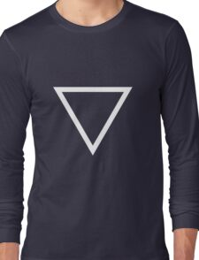 whtTriangle Long Sleeve T-Shirt