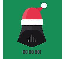 christmas Darth Vader Photographic Print
