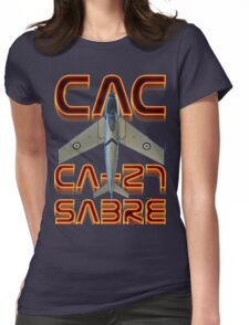 CAC Ca-27 Sabre  Womens Fitted T-Shirt