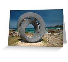 Spiral 2 @ Sculptures By The Sea, 2011 Greeting Card
