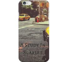 Sherlock Holmes- A Study In Scarlet iPhone Case/Skin