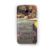 Sherlock Holmes- A Study In Scarlet Samsung Galaxy Case/Skin