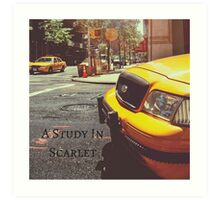 Sherlock Holmes- A Study In Scarlet Art Print