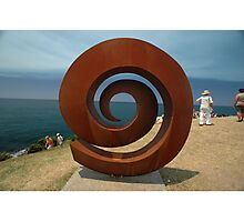 Spiral @ Sculptures By The Sea, 2011 Photographic Print