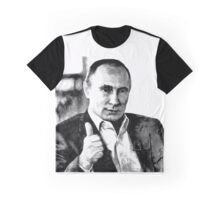 Vladimir Putin. Thumbs-up for Peace Graphic T-Shirt