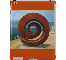 Spiral @ Sculptures By The Sea, 2011 iPad Case/Skin