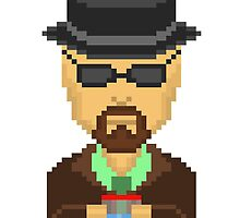 Breaking Bad | Heisenberg Pixalated | NEW! by Gerald Den