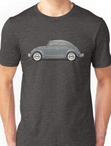 1960 Volkswagen Beetle Sedan - Anthracite Unisex T-Shirt