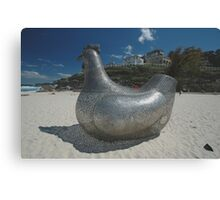 Chicken @ Sculptures By The Sea 2010 Canvas Print