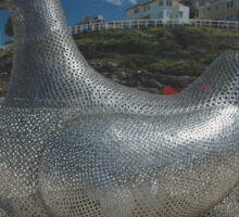 Chicken @ Sculptures By The Sea 2010 Sticker