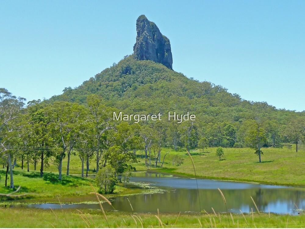 Mt Coonowrin, Queensland by Margaret  Hyde