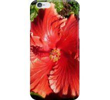 """Hibiscus """"Orange Magic"""" iPhone Case/Skin"""