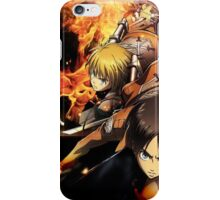 Attack On Titan epic iPhone Case/Skin