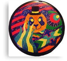 Psychedelic Panda Canvas Print