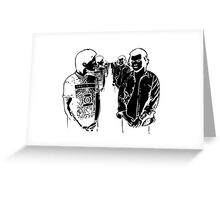 Larry Stylinson in Black&White Greeting Card