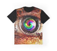 Robotic Eye Graphic T-Shirt