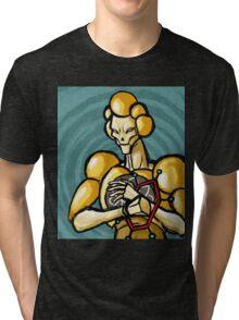 Mo-Lec-U-Lar silverhawks villain Tri-blend T-Shirt