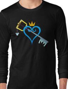 Kingdom Hearts - Heart and Sword Long Sleeve T-Shirt