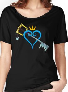 Kingdom Hearts - Heart and Sword Women's Relaxed Fit T-Shirt