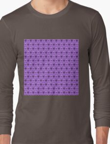 The Haunted Mansion Wallpaper - Light Purple  Long Sleeve T-Shirt