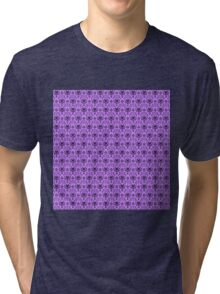 The Haunted Mansion Wallpaper - Light Purple  Tri-blend T-Shirt