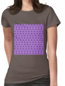 The Haunted Mansion Wallpaper - Light Purple  Womens Fitted T-Shirt
