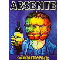 Van Gogh Absinthe Poster Photographic Print