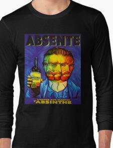 Van Gogh Absinthe Poster T-Shirt