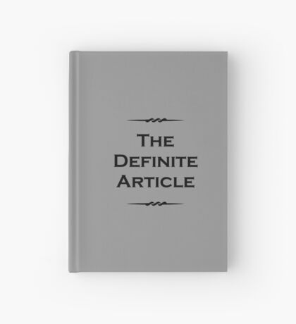 The Definite Article Hardcover Journal