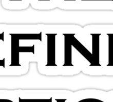 The Definite Article Sticker