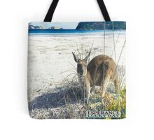 roo on lucky bay Tote Bag