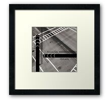 Sherlock- Mind Palace Directions Framed Print