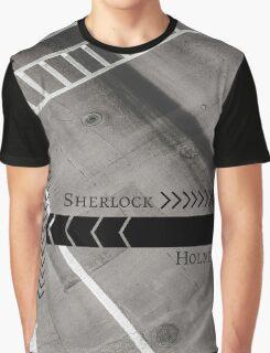 Sherlock- Mind Palace Directions Graphic T-Shirt