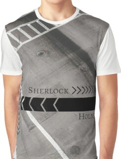 Sherlock- Mind Palace Directions Graphic T-Shirt