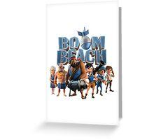 boom beach Greeting Card