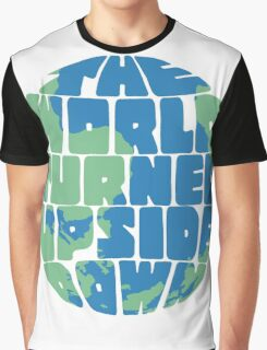Hamilton - the world turned upside down - green & blue Graphic T-Shirt