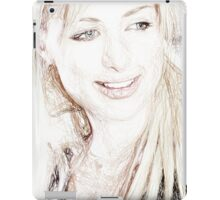 Paris Hilton - Colored Pencil Art iPad Case/Skin