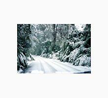 Snowy road, Marysville, Victoria, Australia Unisex T-Shirt