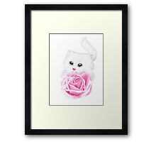 Inside my little heart Framed Print