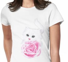 Inside my little heart Womens Fitted T-Shirt