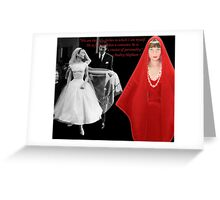 Audrey & Givenchy Greeting Card