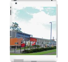 Fire Station, Wishart, Queensland, Australia iPad Case/Skin