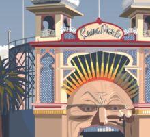 Luna Park - Melbourne Sticker
