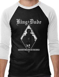 King Dude (Masked | LTLOTW) Men's Baseball ¾ T-Shirt