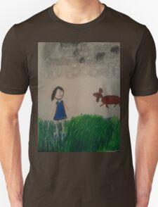 oil pastel drawing T-Shirt